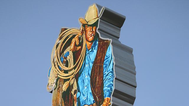 הגבר של מרלבורו. סמל לגבריות הבודדה (צילום: Shutterstock)