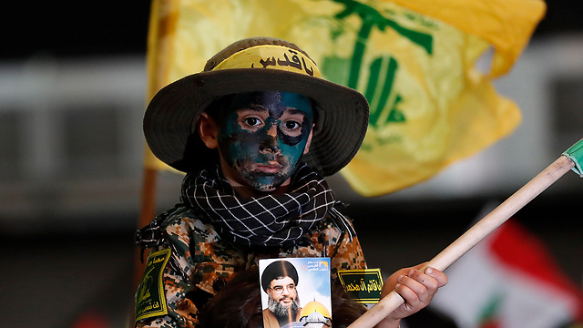 Young Hezbollah supporter (Photo: AP)