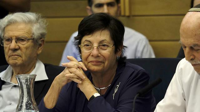 Naor, center (Photo: Yoav Dudkevitch)