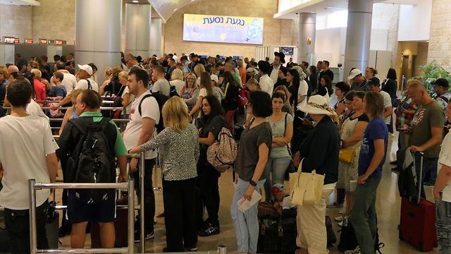 עלייה של 20% בכניסות תיירים באוגוסט השנה (צילום: דני שדה)