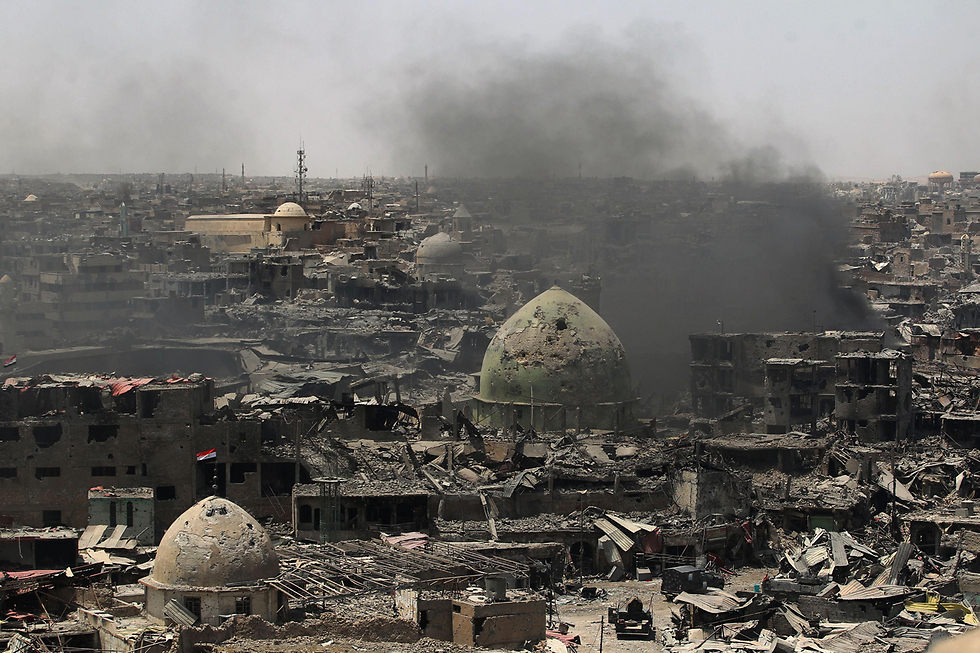 Destruction in Mosul (Photo: AFP)