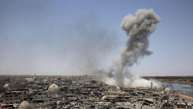 9 חודשי לחימה. מוסול (צילום: AFP) (צילום: AFP)