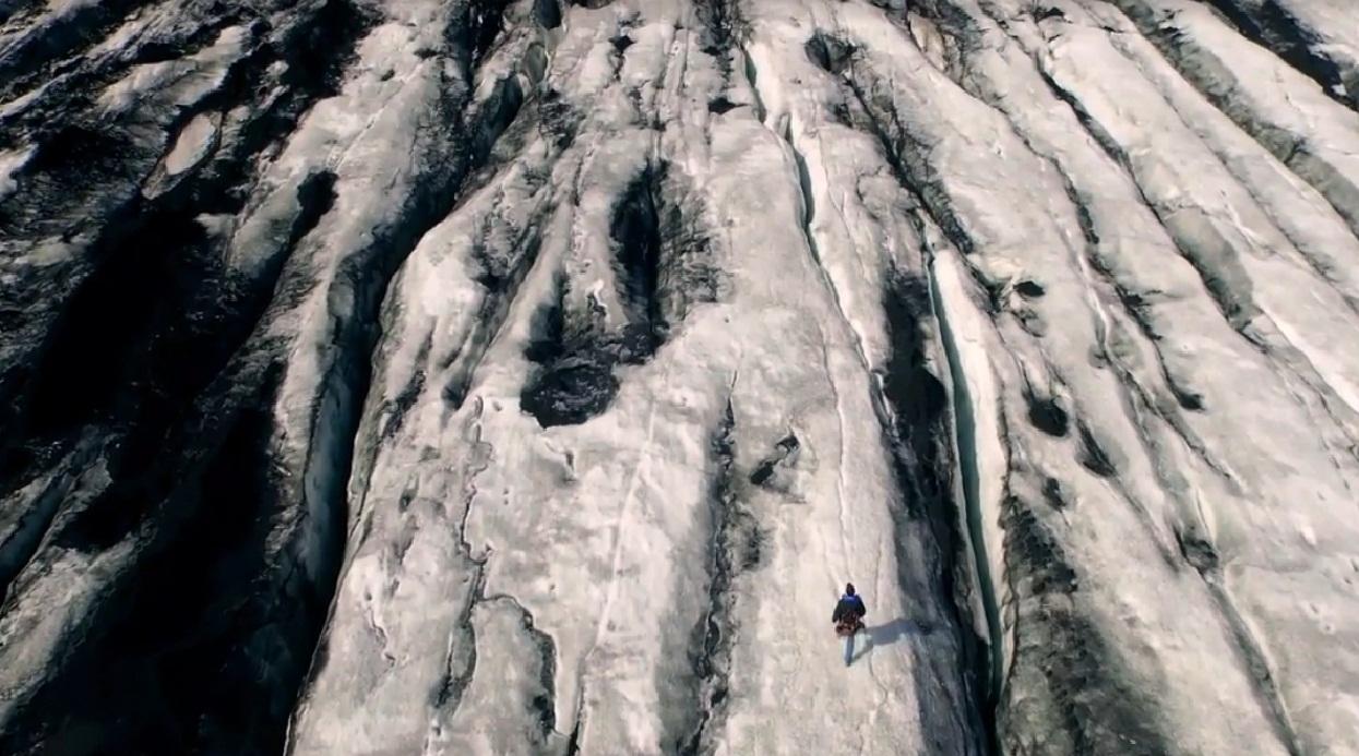 """אדם בטבע: משטחי הקרח ה""""אינסופיים"""" באיסלנד"""