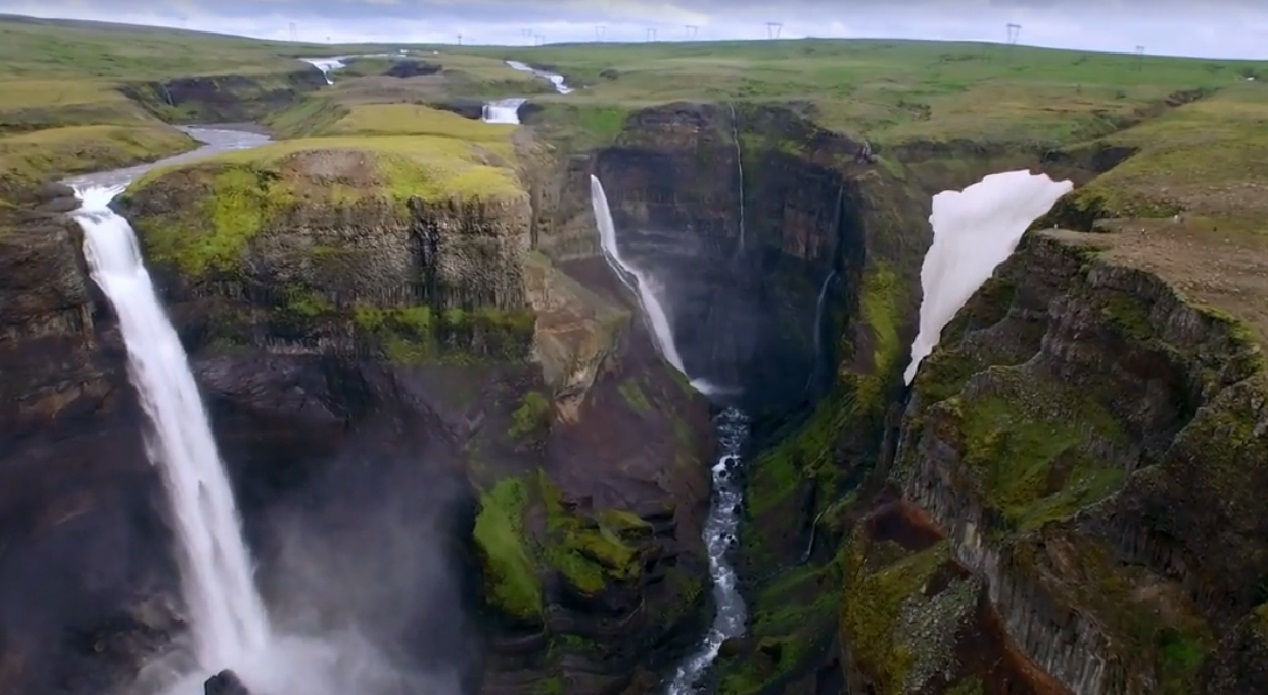 כמה עוצמה. איסלנד