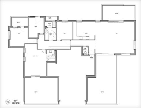 תוכנית הדירה המקורית (תוכנית: פנינית שרת אזולאי)