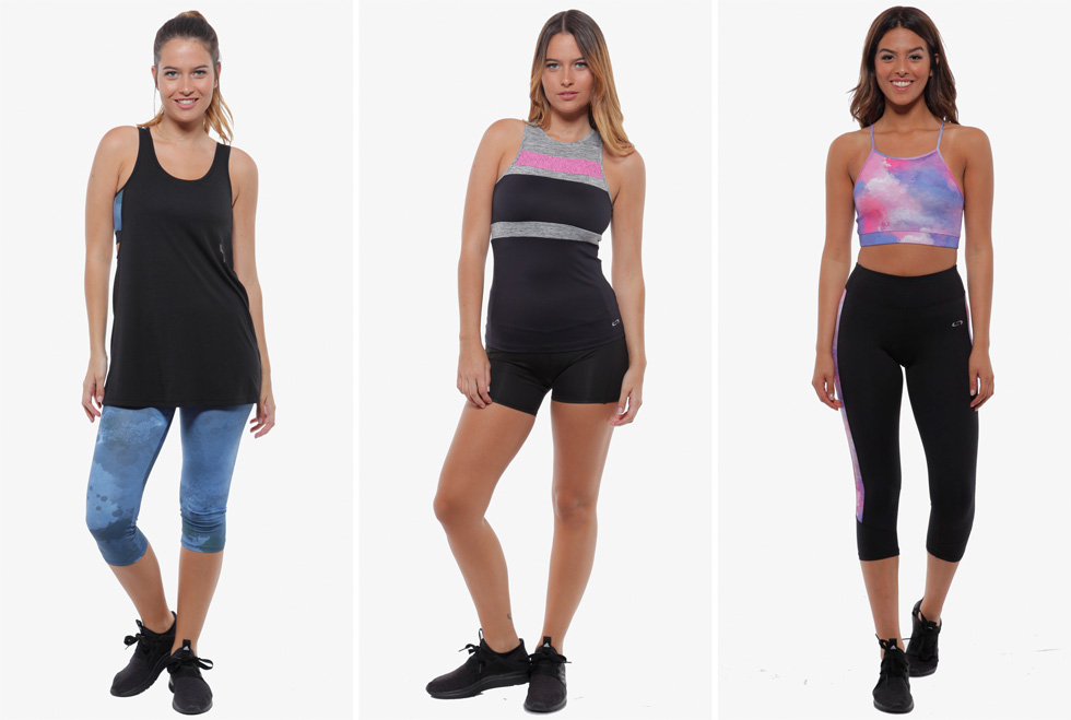 יישום של שגרת ספורט מחייב עדכון של ארון הבגדים. Sealmax, shoppinglaisha.co.il