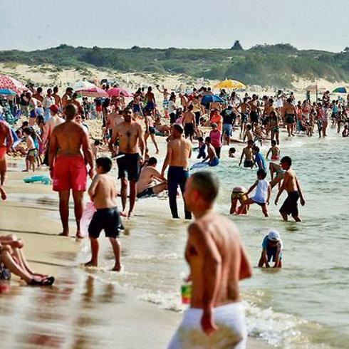 חוף אשדוד. נוף פתוח (צילום: גדי קבלו)