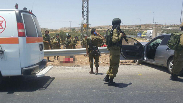 The scene of the attack (Photo: TPS)