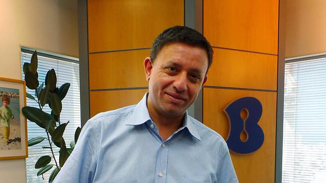 Avi Gabbay in his days as Bezeq CEO