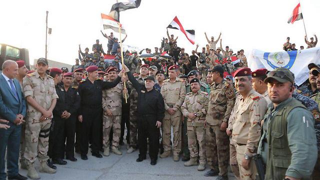 Haider al-Abadi declares victory
