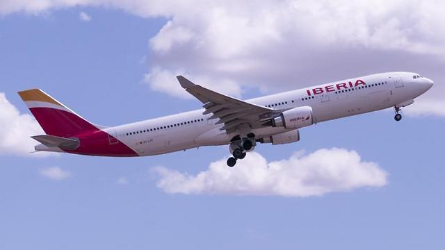 Лайнер компании Iberia