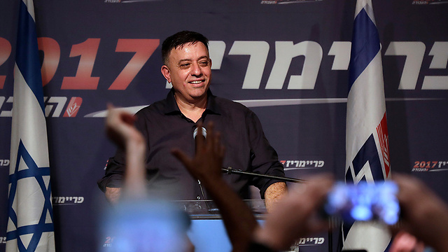 Avi Gabbay after winning the Labor elections (Photo: AP)