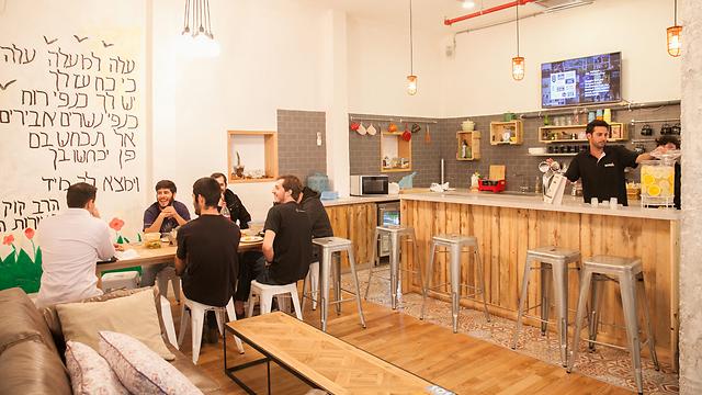 משרדי wework בתל אביב (צילום: אוראל כהן) (צילום: אוראל כהן)
