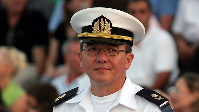 Former navy chief Eliezer Marom was detained for questioning (Photo: Elad Gershgoren) (Photo: Elad Gershgoren)