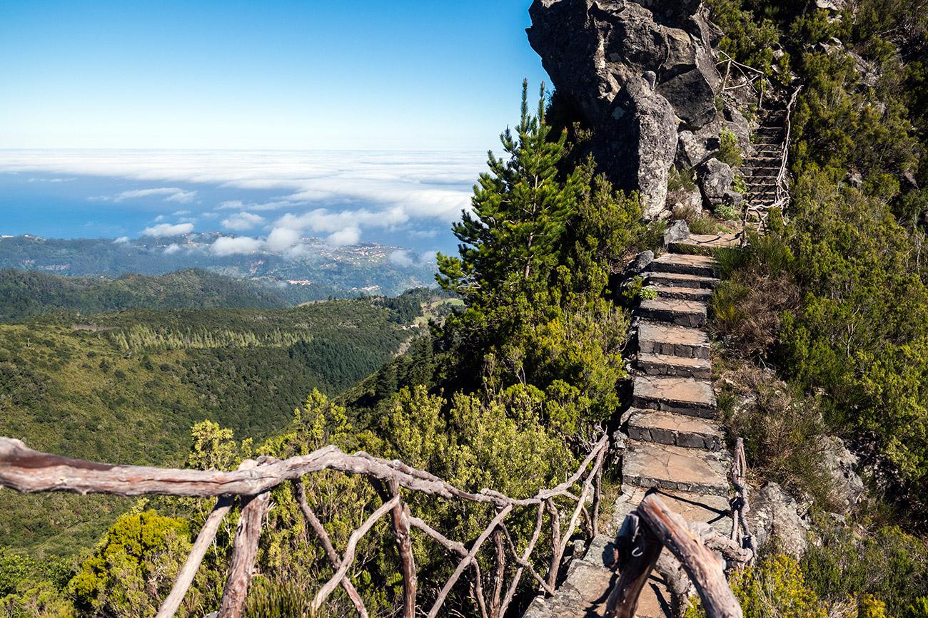 כמו מתוך אגדה: שביל המדרגות (צילום: ליאור קורן)