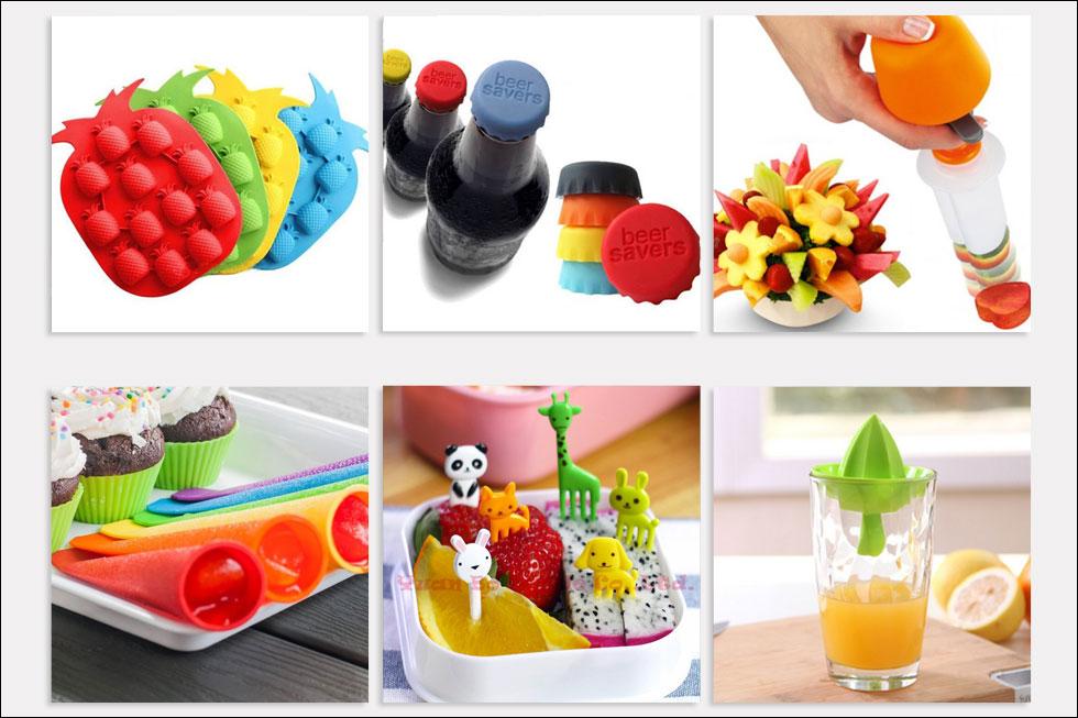 שלל אביזרים צבעוניים שעושים קיץ שמח. מחירים ומידע - בהמשך הכתבה (צילום: Aliexpress.com, ebay.com)