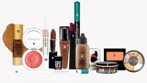 הצעות למוצרים שיתאימו לאיפור על עור כהה (צילום: גיל דור, מוטי פישביין, VIP DESIGN STUDIO, מוטי זאבי)
