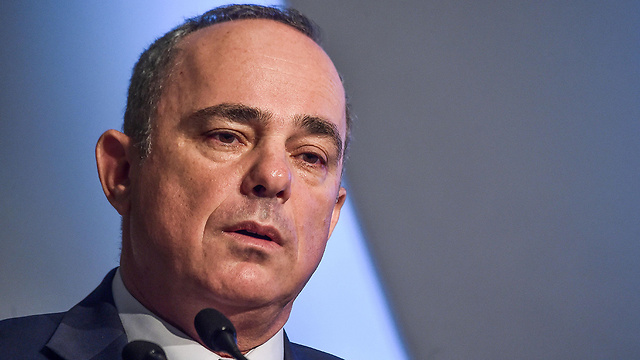 Minister of National Infrastructures, Energy and Water Resources Yuval Steinitz (Photo: AFP) (Photo: AFP)