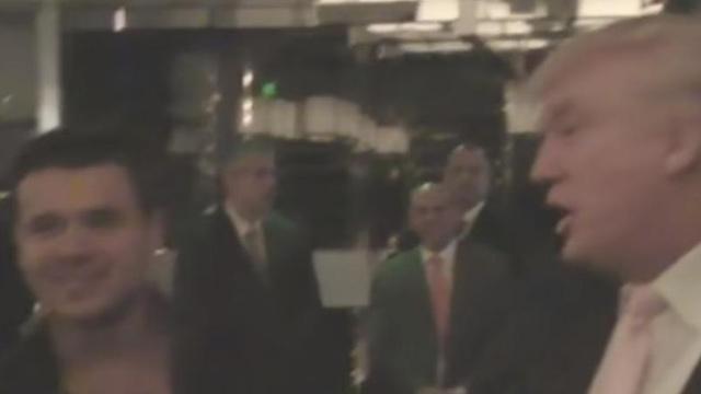 Трамп и Эмин Агаларов на встрече в Лас-Вегасе. Фото: CNN