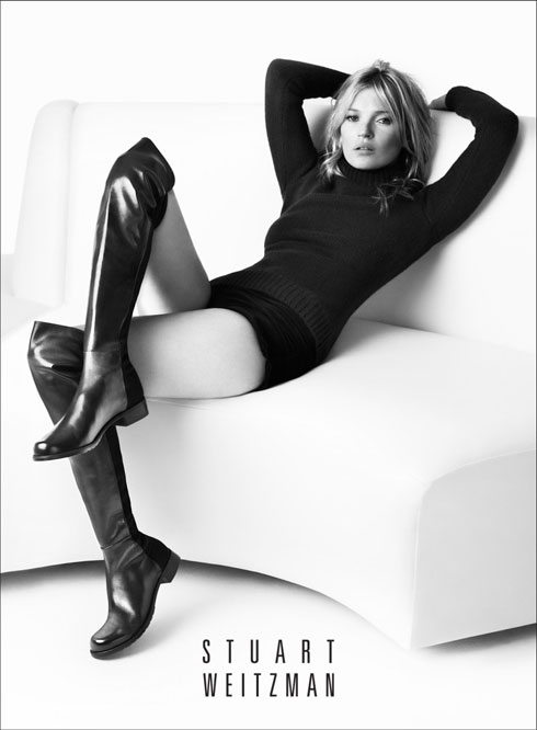 """""""קייט מוס הסבירה שהיא אוהבת את העקב הרחב ואת הגובה של המגפיים. באותו רגע הבנתי שזה המקום שכל אישה מתחברת אליו באופן טבעי, שהוא סקסי אבל אין לו קונוטציה של זנות"""""""