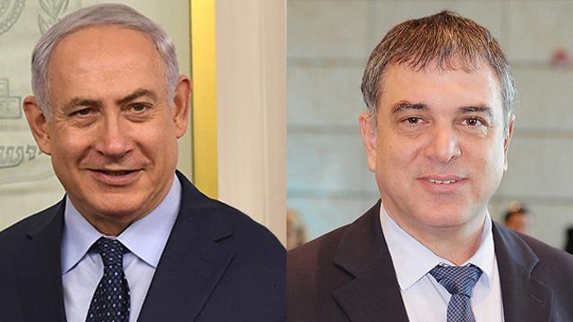 PM Netanyahu and Shlomo Filber