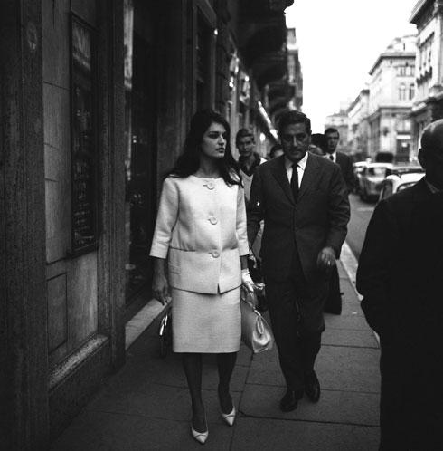 נישאו, התגרשו ושמרו על יחסי ידידות עד שהתאבד בשנת 1970. דלידה עם לוסיאן מוריס (צילום: AP)