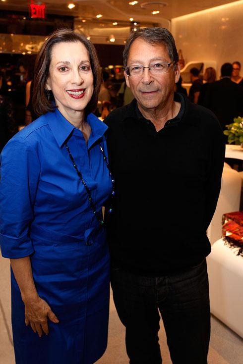 """סטיוארט ויצמן עם אשתו ג'יין. """"תמיד חשבתי שיהודים הם אנשי ספר, וכששמעתי על המצב בישראל רציתי לשנות אותו"""" (צילום: Gettyimages)"""
