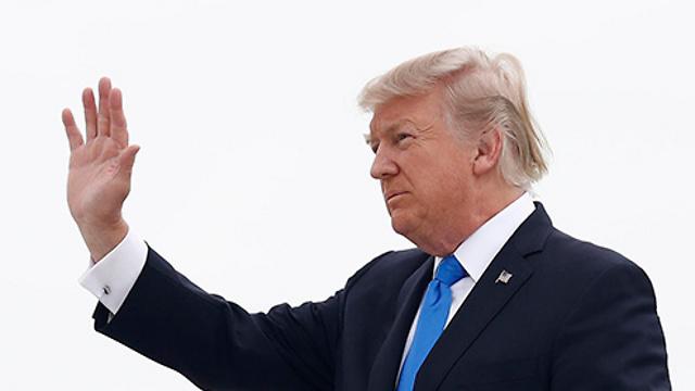 תומך במדינות המפרץ. טראמפ (צילום: AP)