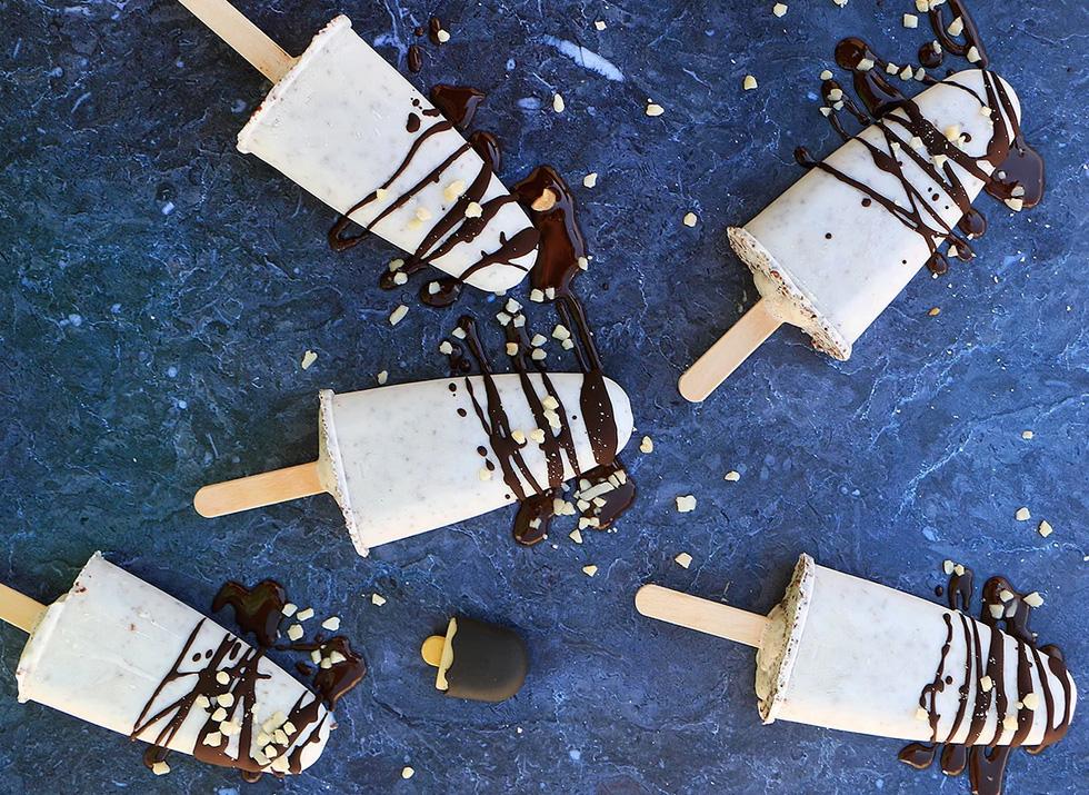 ארטיקים עם קוקוס ושוקולד לבן (צילום: הודליה כצמן Bake Care)