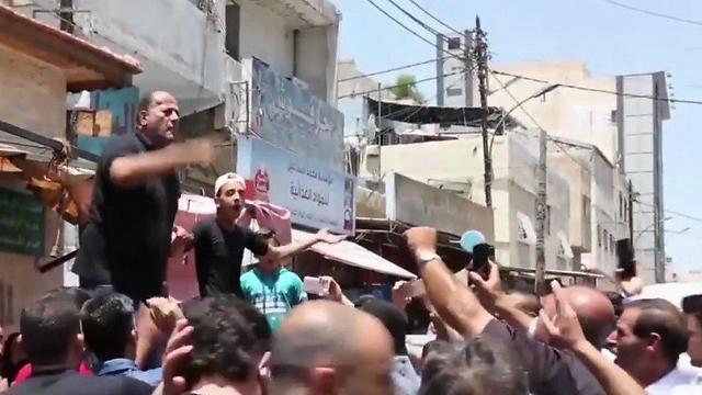 """ההפגנה בירדן: """"העם רוצה הוצאה להורג לפני החג"""""""