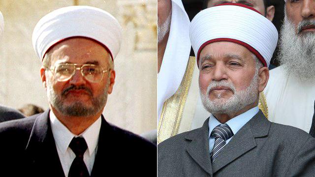 Бывший и нынешний муфтий Иерусалима. Фото: Амит Шааби