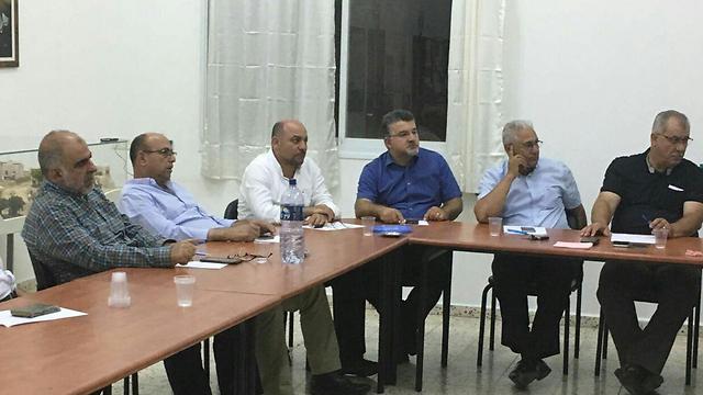 ישיבת ועדת המעקב העליונה ()