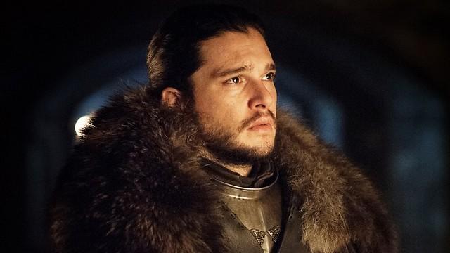 מלך בצפון. ג'ון סנואו (צילום: HBO)