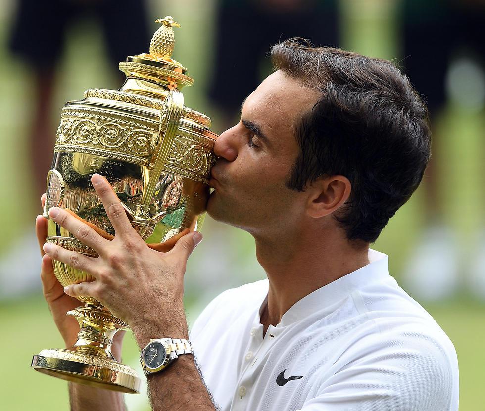 גביע שמיני, מקום שלישי. פדרר (צילום: EPA)