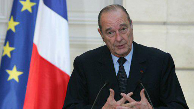 לא נחקר בתקופת כהונתו. נשיא צרפת לשעבר ז'אק שיראק (צילום: רויטרס)