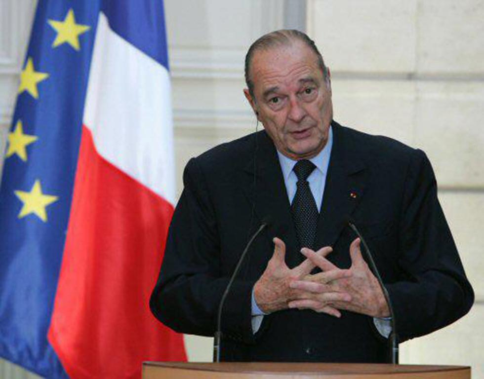 נשיא צרפת לשעבר ז'ק שיראק, הראשון שקיבל אחריות לפשעי ממשל וישי כלפי יהודי צרפת (צילום: רויטרס)