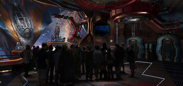 """מלון """"מלחמת הכוכבים"""" (צילום: Disney Parks)"""