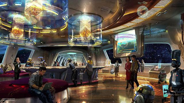 המלון ייפתח ב-2019 (צילום: Disney Parks)