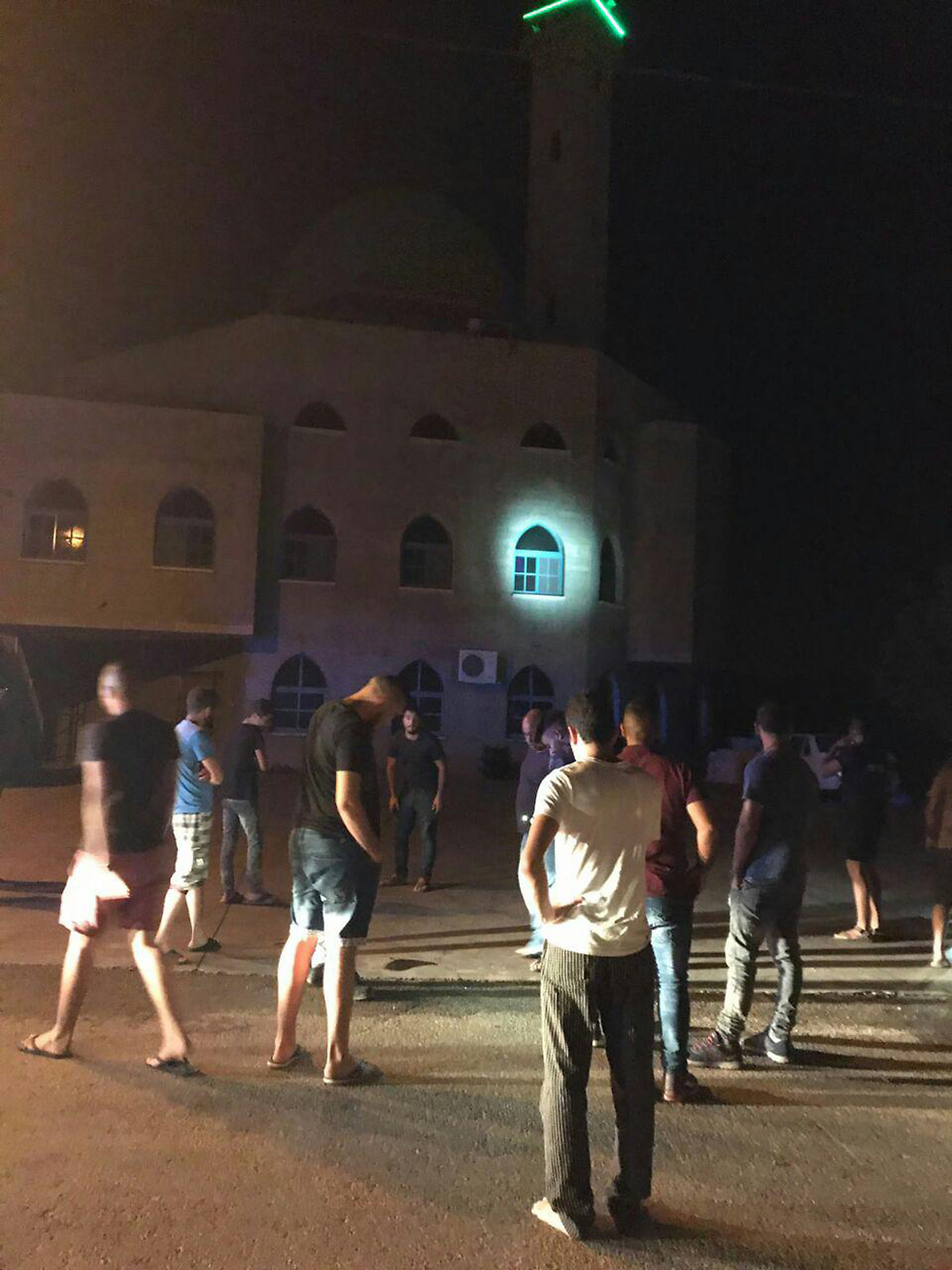 One of the mosques in Maghar hit by a grenade following the Temple Mt. attack
