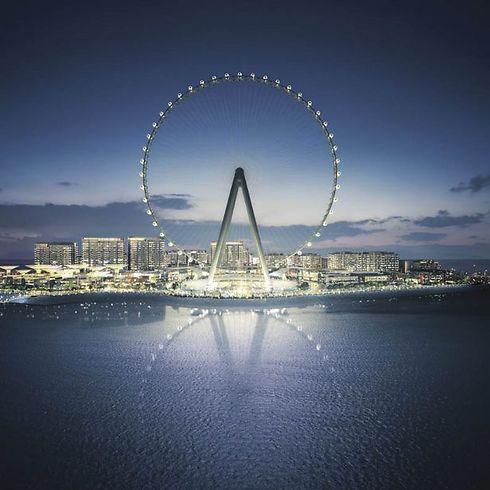 כך זה ייראה מהים (צילום: Dubai Media)