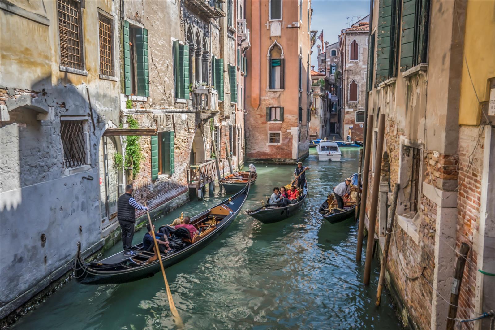 תעלות המים בוונציה (צילום: איתמר קוטלר)
