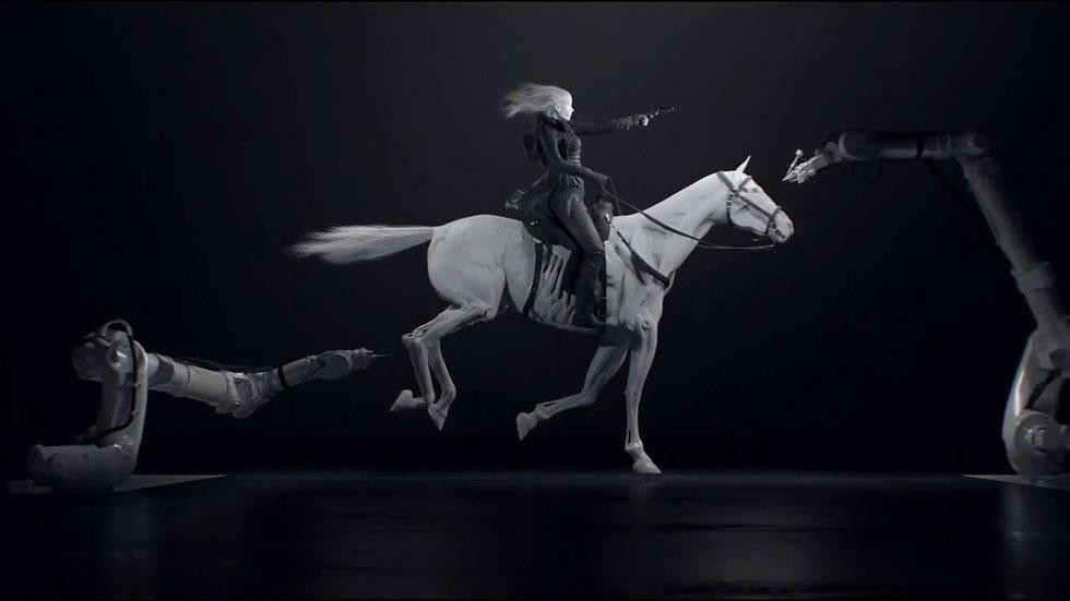 צבעוניות נזירית ותחכום קונספטואלי בפתיח של ''ווסטוורלד'', שמועמד לפרס האמי (צילום: מתוך הסדרה Westworld)