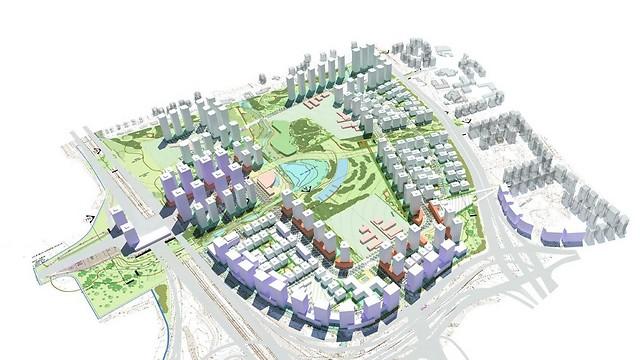 הדמיה: א.מזור-א.פירשט אדריכלים ומתכנני ערים (הדמייה:  א. מזור – א. פירשט אדריכלים ומתכנני ערים)