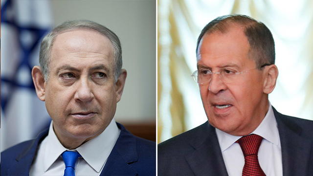 Prime Minister Netanyahu and Sergei Lavrov (Photo: Reuters, MCT)