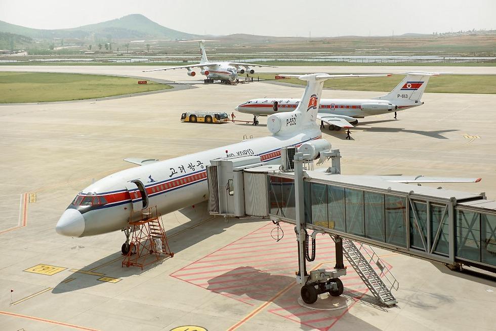 מטוסי אייר קוריו על הקרקע (צילום: Arthur Mebius) (צילום: Arthur Mebius)