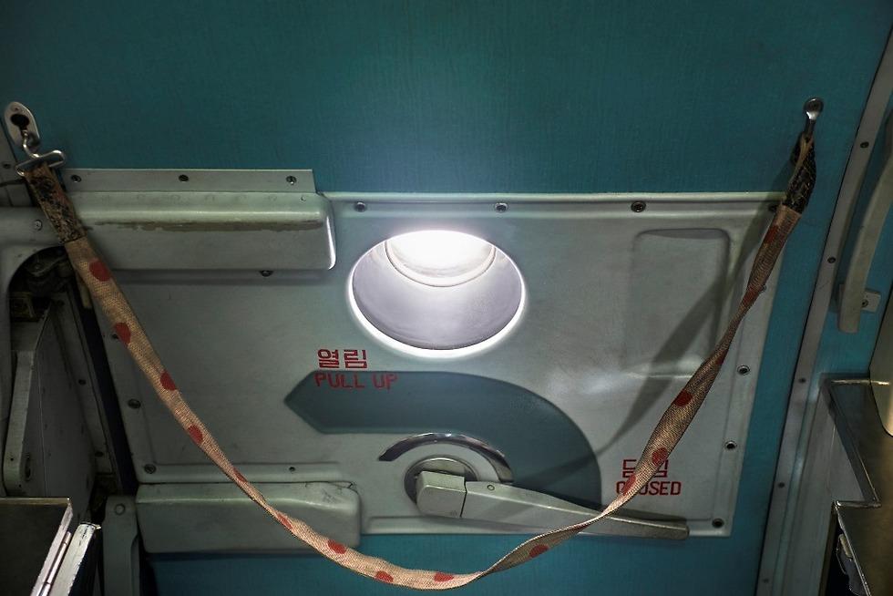 דלת המטוס. לא נראית כמו במטוסים המערביים (צילום: Arthur Mebius) (צילום: Arthur Mebius)