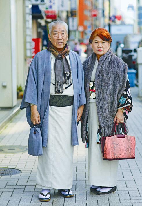 """""""אתה לעולם לא תוכל לנחש בנות כמה הנשים היפניות"""" (צילום: ארי סת' כהן, advancedstyle.com)"""