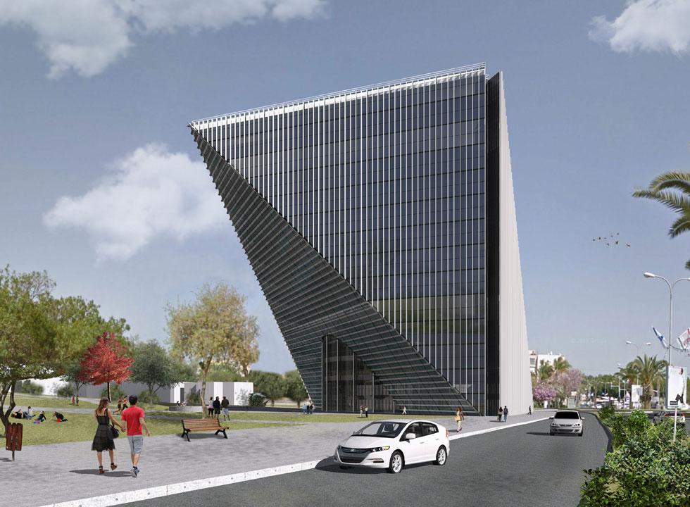"""הדמיה: רוגינסקי אדריכלות אורבנית בע""""מ"""