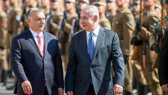 Netanyahu and Orbán (Photo: AP)