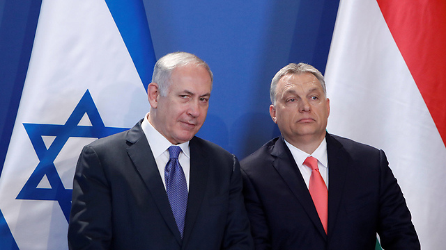 PM Netanyahu and Orbán (Photo: Reuters)